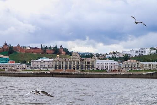Речная прогулка на теплоходе в Нижнем Новгороде - 4