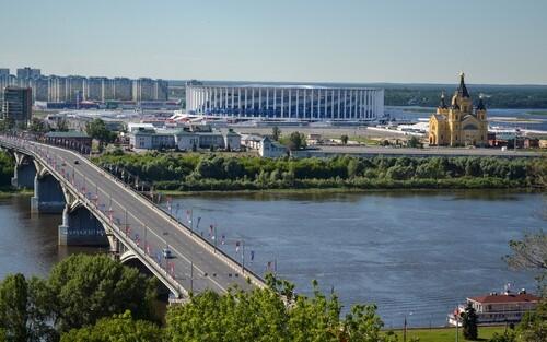 Речная прогулка на теплоходе в Нижнем Новгороде - 2