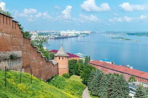 Речная прогулка на теплоходе в Нижнем Новгороде - 1