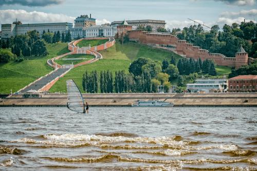 Речная прогулка на теплоходе в Нижнем Новгороде - 0