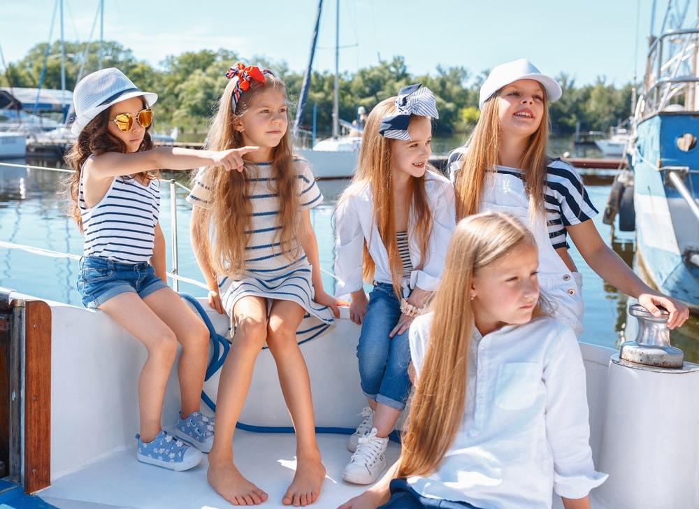 Экскурсия для детей «Посвящение в моряки» 2021