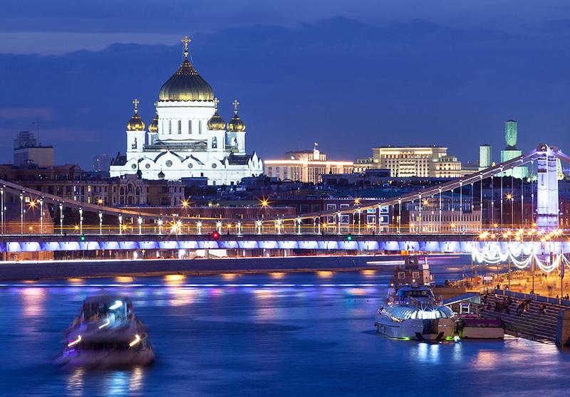 Экскурсия «Вечерняя Москва» на теплоходе 2021