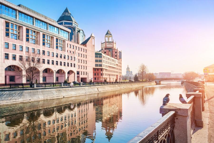 Прогулка по Водоотводному каналу Москвы 2021