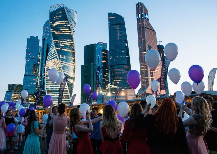 Выпускной на теплоходе по Москве-реке